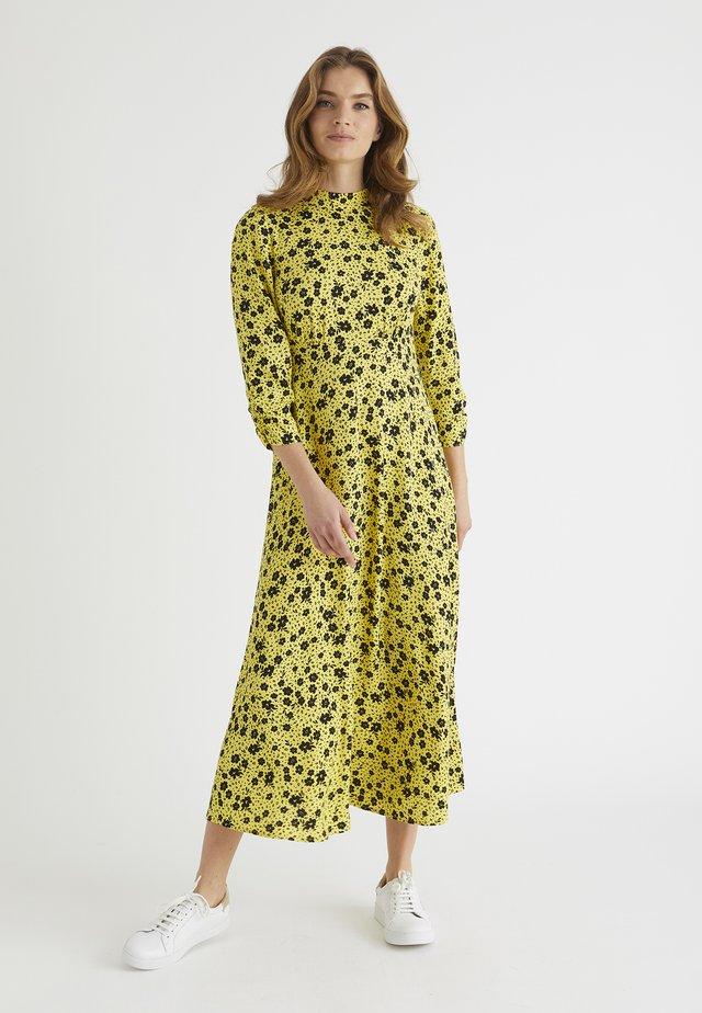 MARTHA - Day dress - yellow