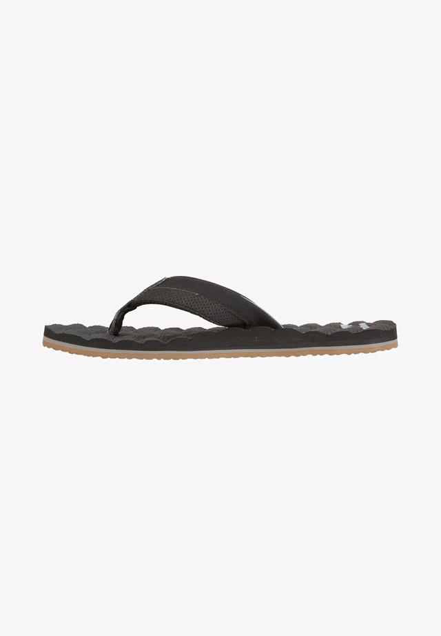 DUNES IMPACT - T-bar sandals - black