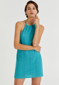 PULL&BEAR - Cocktail dress / Party dress - turquoise - 0