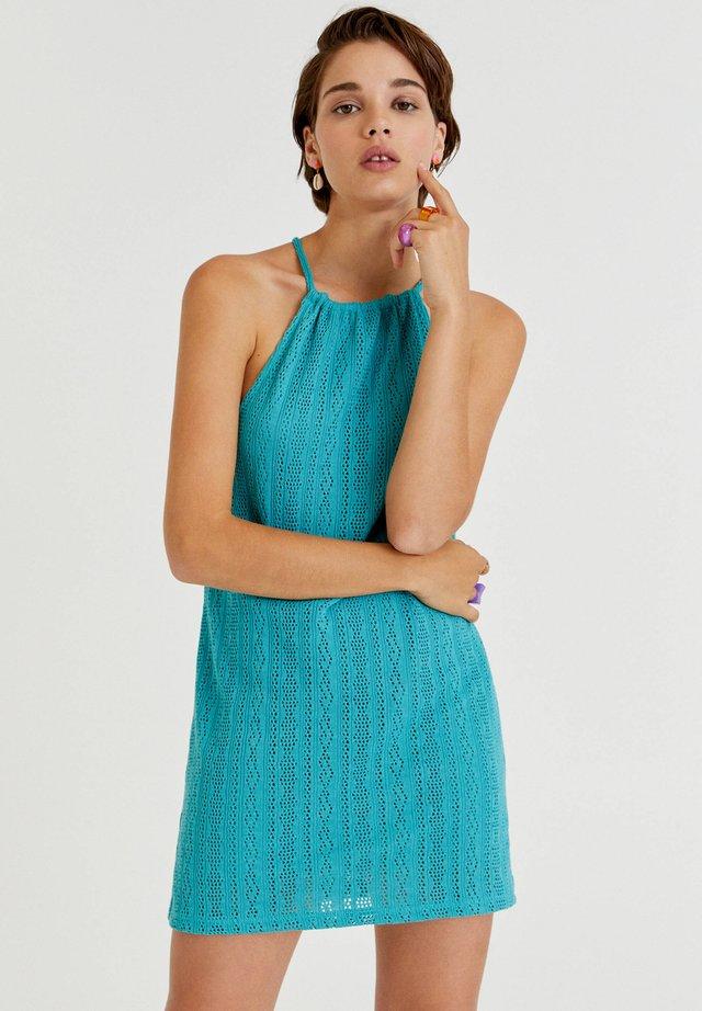 Sukienka koktajlowa - turquoise