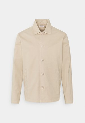 PINE OVERSHIRT - Summer jacket - light feather gray
