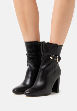 VIANETTE - Kotníková obuv na vysokém podpatku - noir