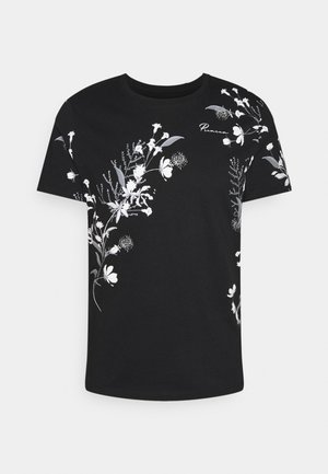 JPRDEEP TEE CREW NECK - T-shirt print - tap shoe