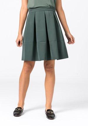 ROCK  - Pleated skirt - eukalyptus