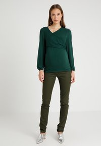 Envie de Fraise - Long sleeved top - dark green - 1