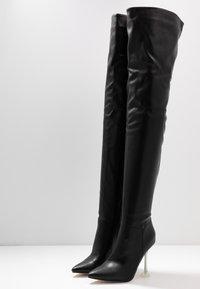 BEBO - DELTA - Laarzen met hoge hak - black - 4