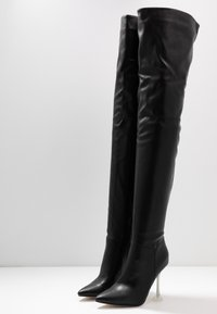 BEBO - DELTA - High heeled boots - black - 4