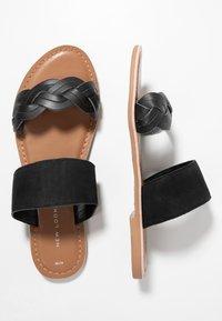 New Look - FLAMINGO - Pantofle - black - 3