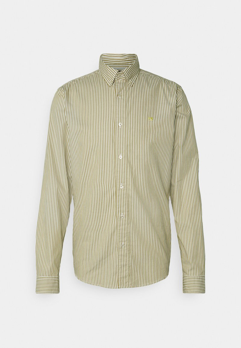 Scotch & Soda - REGULAR FIT STRIPED OXFORD - Shirt - beige