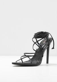 ALDO - CARREGAL - Sandaler med høye hæler - other black - 4