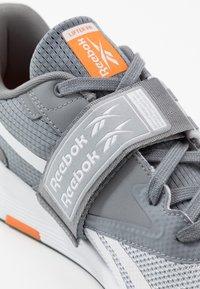 Reebok - LIFTER PR II - Chaussures d'entraînement et de fitness - cold grey - 5