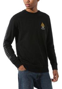 Vans - MN 66 SUPPLY CREW - Sweatshirt - black - 0