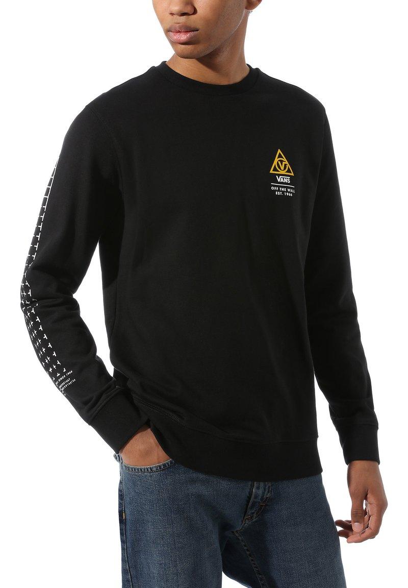Vans - MN 66 SUPPLY CREW - Sweatshirt - black