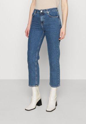 ELLE - Straight leg jeans - denim blue