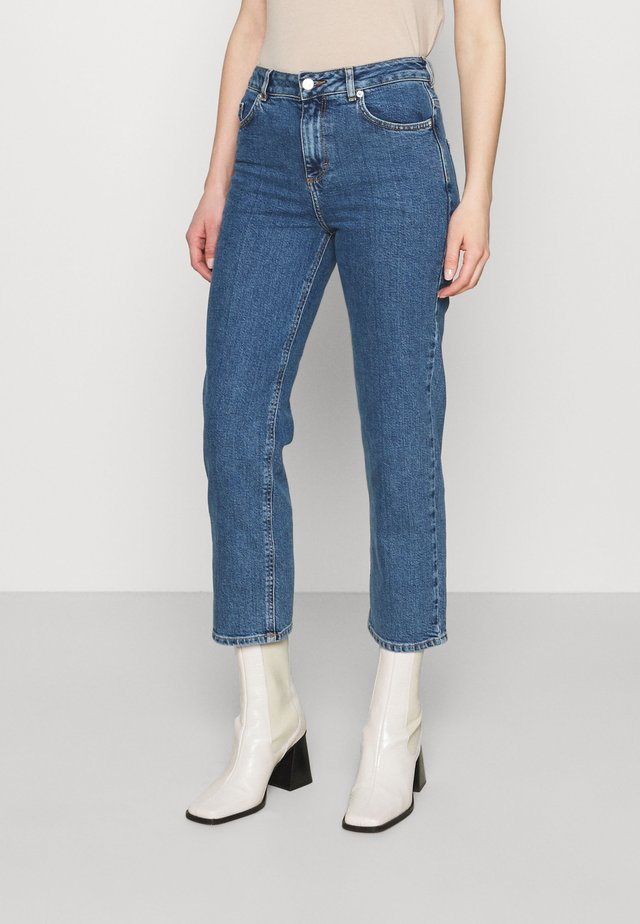 ELLE - Jeans straight leg - denim blue