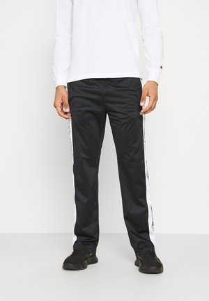 STRAIGHT HEM PANTS - Tracksuit bottoms - black