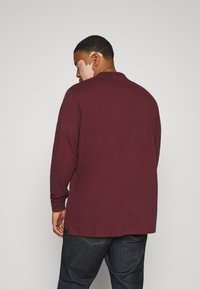 Pier One - Polo shirt - bordeaux - 2