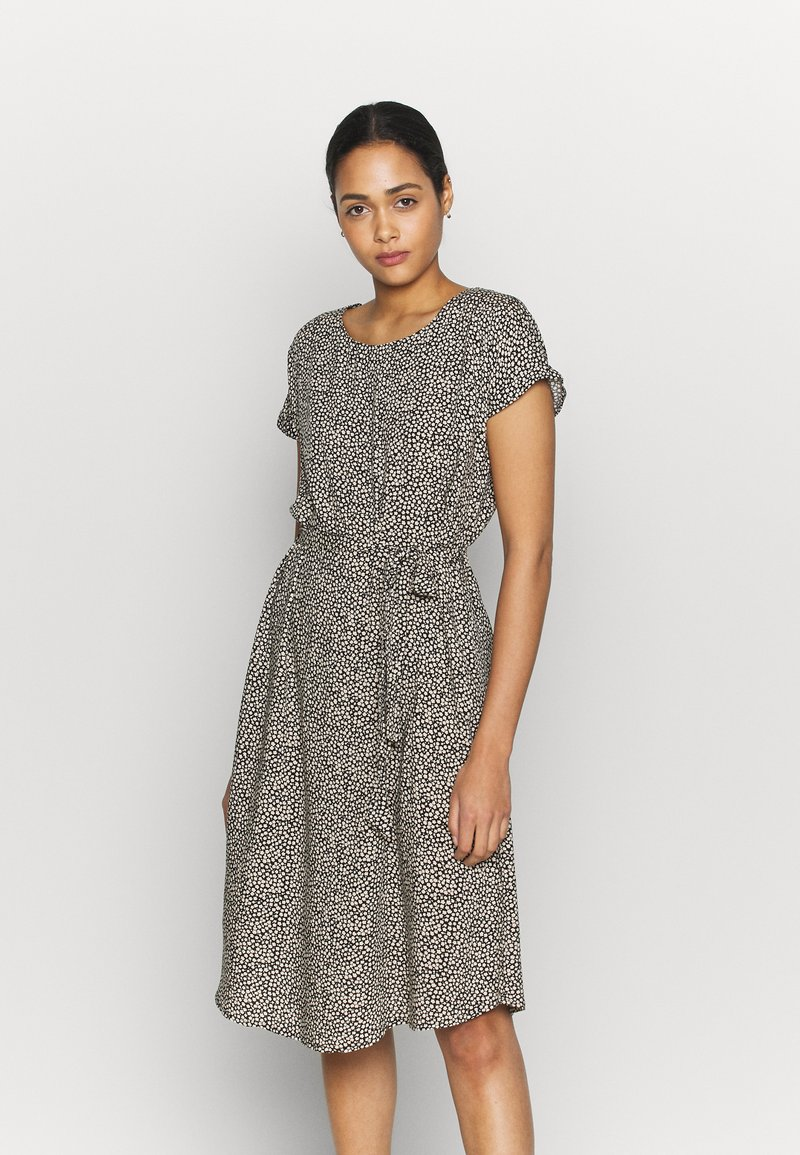 JDY - JDYSTARR - Denní šaty - black/sandshell