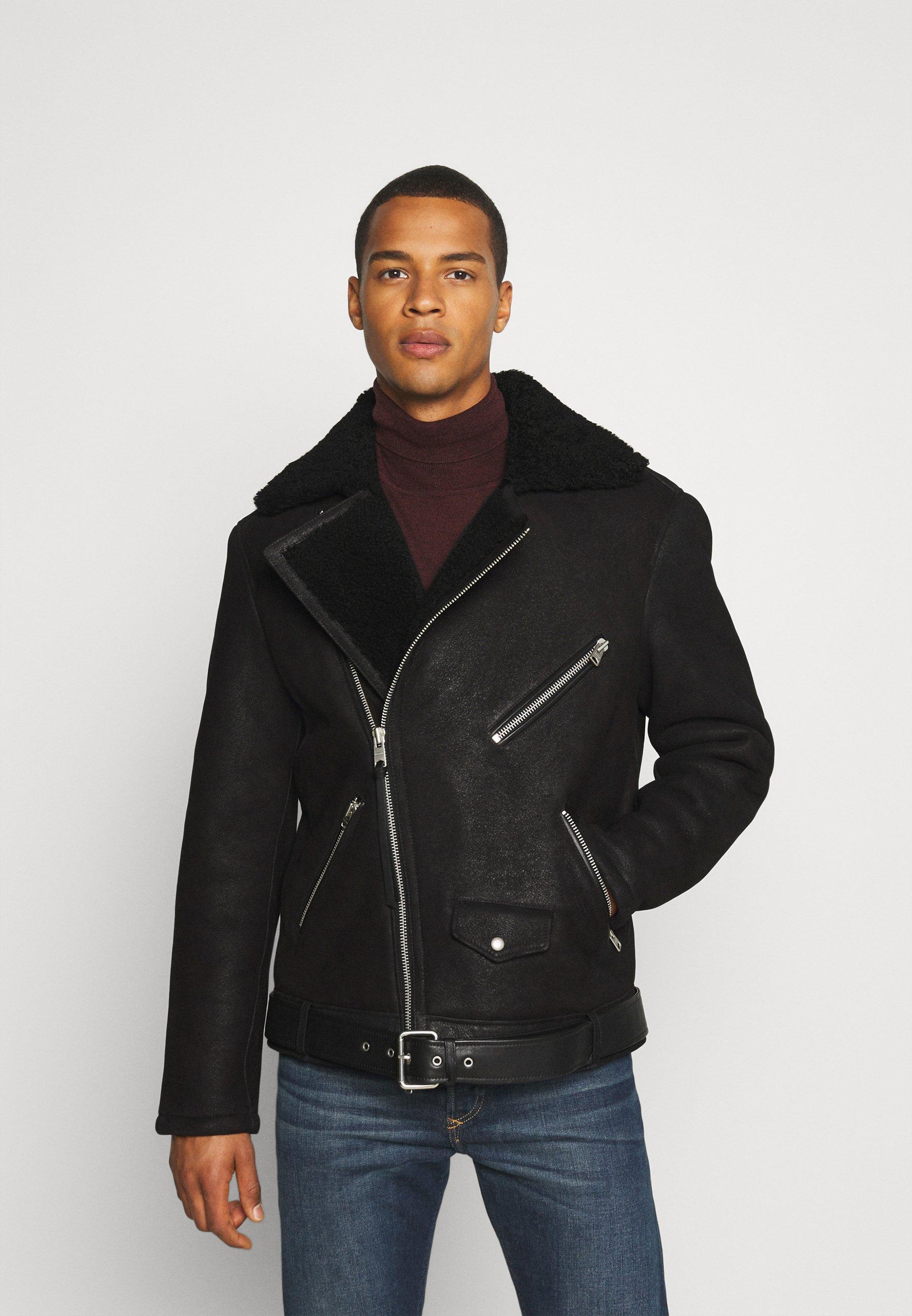 Men TERRO BIKER - Leather jacket
