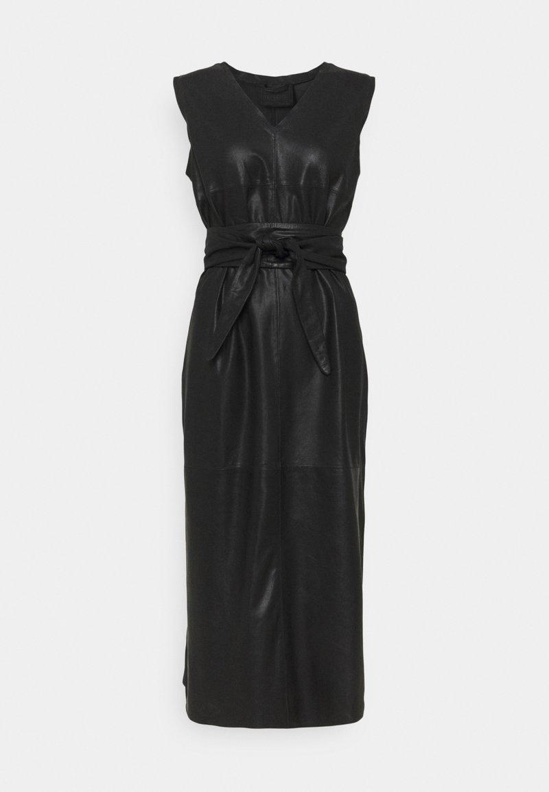 DEPECHE - LONG DRESS - Cocktail dress / Party dress - black nero