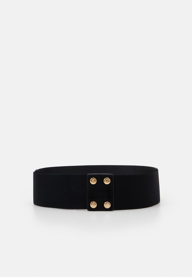 ONLBAYLA STUDS WAIST BELT - Pasek - black/shiny gold-coloured