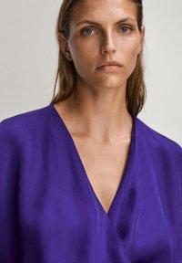 Massimo Dutti - Day dress - dark purple - 6