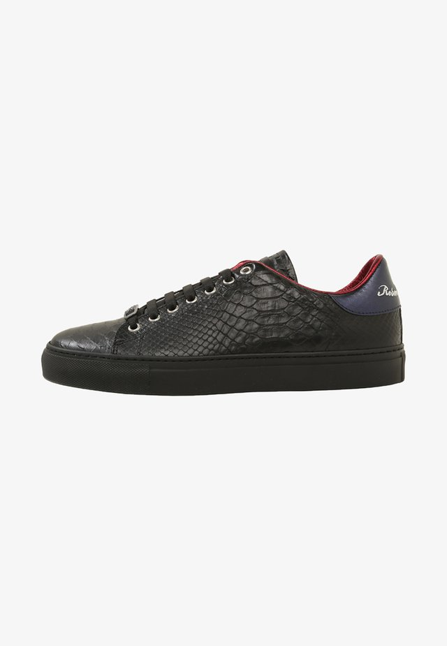 WILLY - Sneakers laag - nero/lamina blu