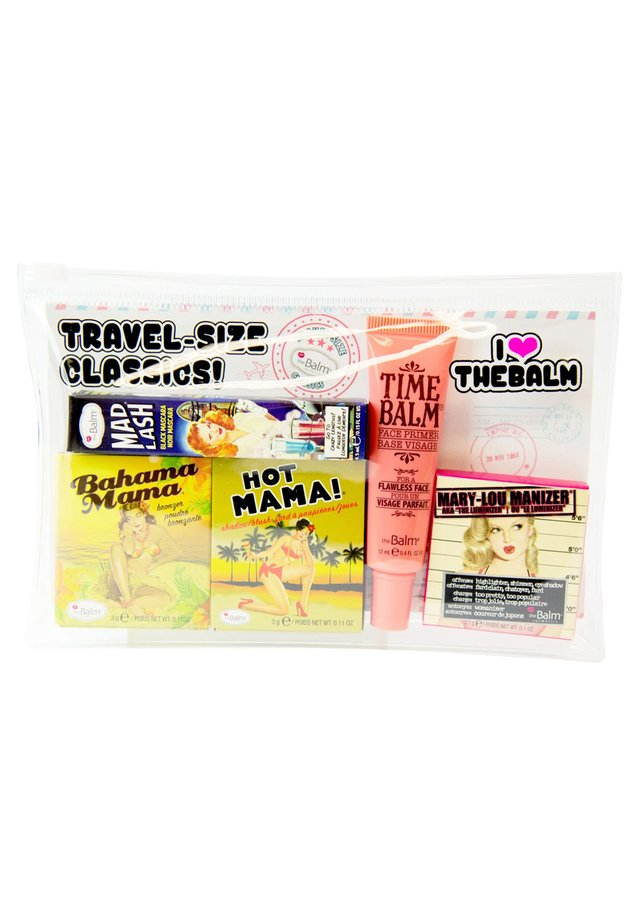 TRAVEL SET WITH COSMETICS BAG - Set de maquillage - -