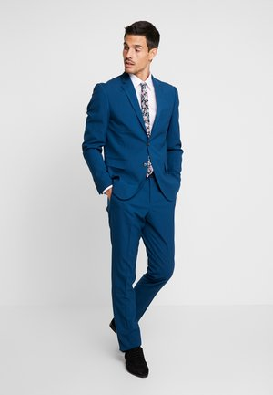 PLAIN MENS SUIT - Suit - deep blue