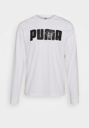 FRANCHISE STREET TEE - Långärmad tröja - white