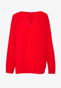 BLUSE - Tunic - red