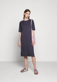 Filippa K - MIRA DRESS - Žerzejové šaty - ink blue - 1
