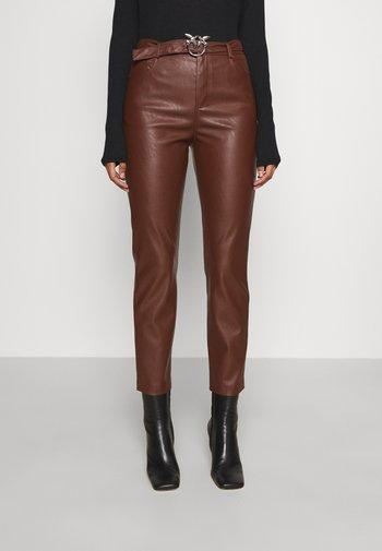 SUSAN - Trousers - brown