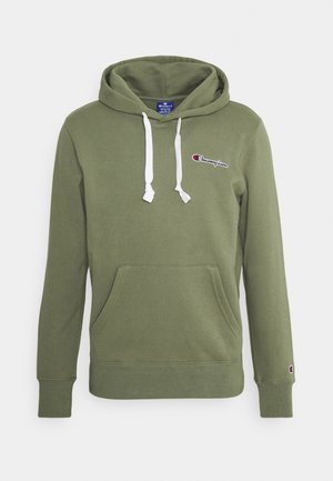 HOODED - Sudadera - olive