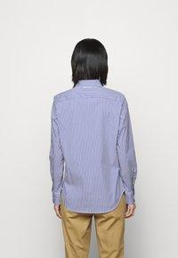 Polo Ralph Lauren - STRETCH - Button-down blouse - navy/white - 2