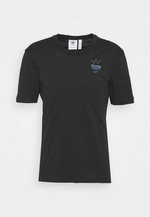 ABSTRACT TEE UNISEX - T-shirt imprimé - black