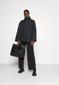 ARKET - JACKET - Light jacket - black - 1