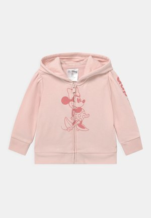 TODDLER GIRL MINNIE MOUSE - Mikina na zip - spring pink