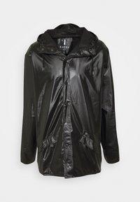Rains - JACKET UNISEX - Impermeable - shiny black - 5
