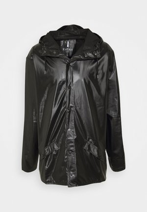 JACKET UNISEX - Summer jacket - shiny black