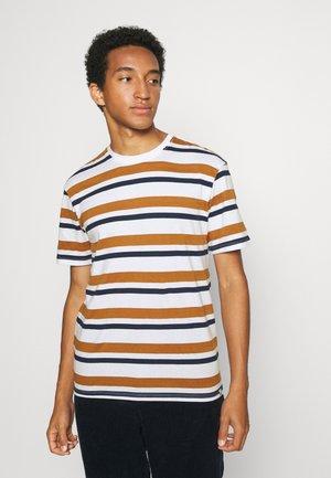 JORDUNCAN TEE CREW NECK - Print T-shirt - bright white