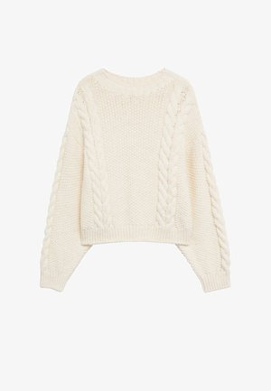 HOME - Strickpullover - ecru