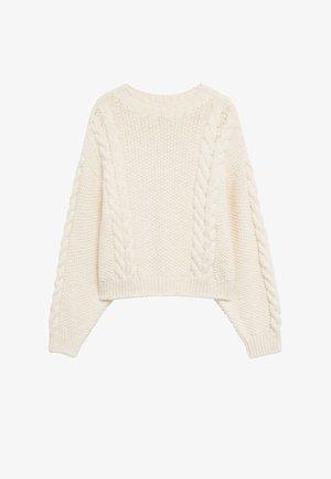 HOME - Pullover - ecru
