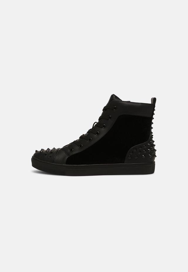 CORDZ - Sneakers hoog - black