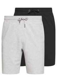 Only & Sons - ONSNEIL 2 PACK - Shorts - black/grey - 0