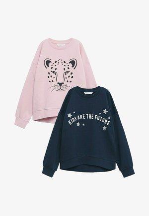 DUBLINIP 2 PACK - Sweatshirt - light pink