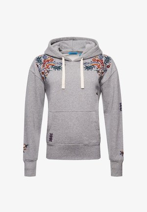 CRAFTED FOLK  - Hoodie - peppered grey grit