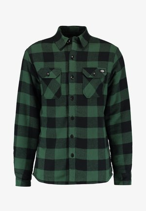 LANSDALE SHERPA LINED  - Shirt - pine green