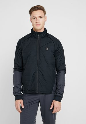 HALE PADDED - Outdoor jacket - black/asphalt