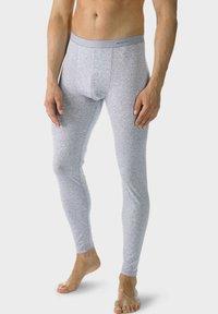 mey - Pyjama bottoms - light grey melange - 0